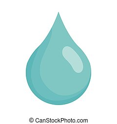 hand with water drop liquid icon