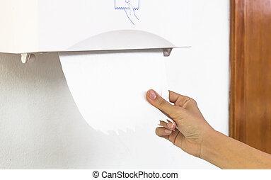 Tissues paper towel