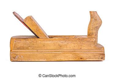Hand wooden plane
