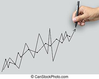 Hand write graph