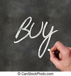 Hand Writing Buy