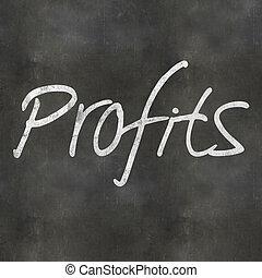 Hand Writing Profits