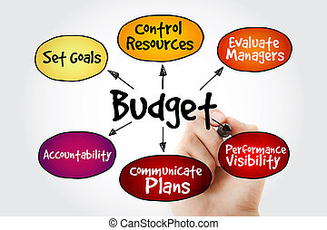 Purposes of maintaining Budget