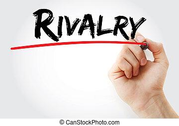 Hand writing Rivalry