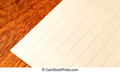 Hand writing To Do List with red marker