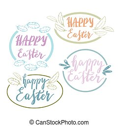 Happy diwali greeting card with hand written inscription to hand written happy easter phrases eeting card text templates with design elements m4hsunfo