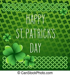 Hand written St. Patrick's day greetings - Hand drawn St....
