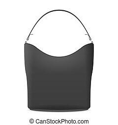 Handbag on a white background. Vector illustration.