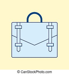 Handbag vector icon