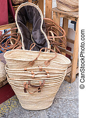 handbags local craft Favignana Sicily