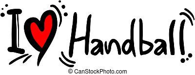 handball, amour