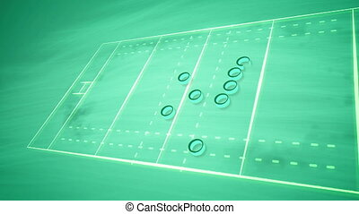 """Handball field tactics for team players"" - ""A wonderful 3d ..."
