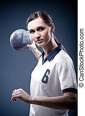 handball, m�dchen