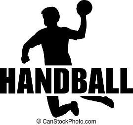 Handball Player Word