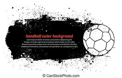 handboll, smutsa ner
