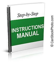 handbuch, anweisungen