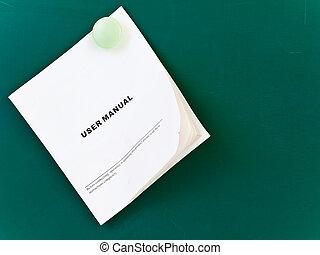 handbuch, benutzer