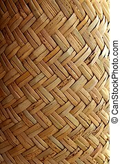 handcraft mexican cane basketry vegetal texture - handcraft...