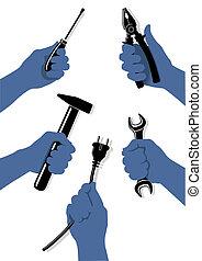 handcraft, redskaberne