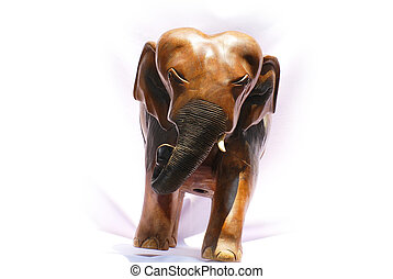 handcraft wood elephant from Asia