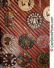 handcrafts, 市場, メキシコ\