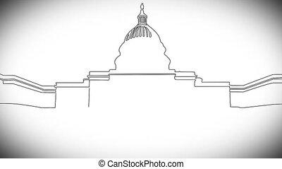 handdraw, design, 2, capitolium