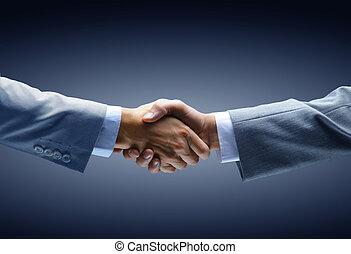 handdruk, achtergrond, -, hand, black , vasthouden