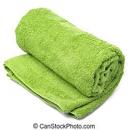 handduk, rulle