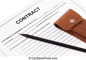 handel contract