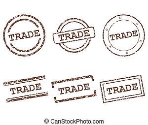 handel, frimærker
