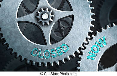 handel, gesloten, schrijvende , ceased, vooral, showcasing, ...