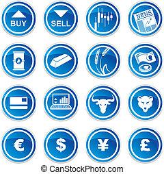 handel, ikonen, sätta