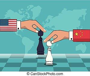 handel, krig, begreb
