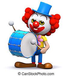 handelsresande, clown, 3