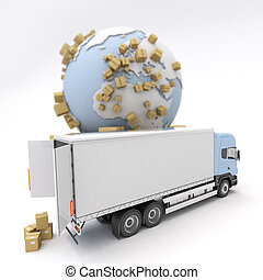 handelsvare, transport