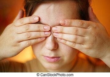 handen, eyes