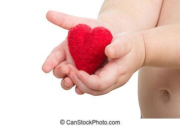 handen, hart