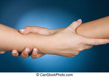 handen, helpen, tonen