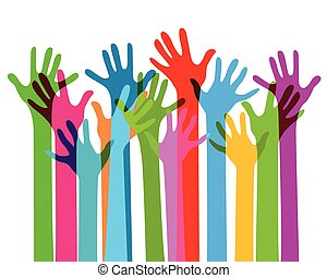 handen samen, nee, doorzichtigheid
