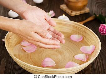 handen, spa