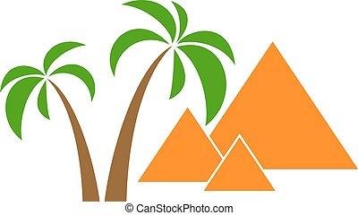handflator, pyramider