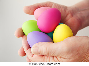 Handful of Easter eggs