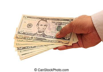handfull, dollars