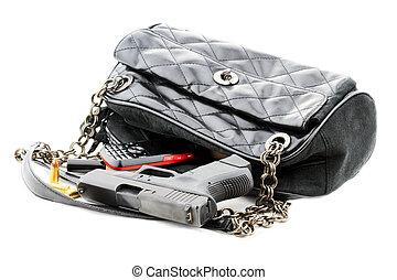 Handgun in Purse - Carried concealed. Handgun and ...