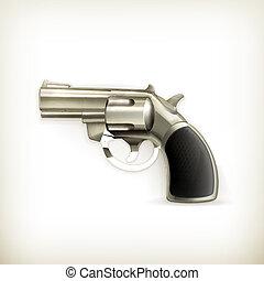 Handgun, vector