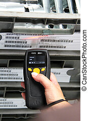 Handheld Computer for barcode scanning