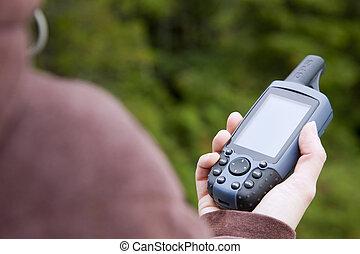 handheld , gps