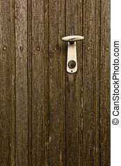 Handhold on Door