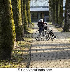 Handicapé, personne