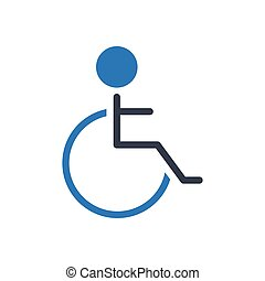 handicap glyph color icon